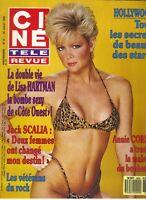 LISA HARTMAN French Cine Tele Revue Magazine 7/28/88 BIKINI