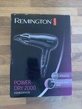 Remington Power Dry 2000 D3010 Professional Hairdryer Hair Dryer Ceramic Ionic