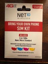 Net10 T-Mobile Nano Sim Card / Unlimited Data Talk Text 411 Net10 Nano Sim Card