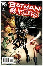 Batman and the Outsiders (2007) #8 NM- Doug Braithwaite Cover Chuck Dixon Story