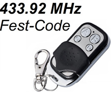 Universal 433.92 MHz Wireless Electric Gate Garage Fob Key Remote Control Clonin