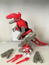 2015 Red T-Rex Zord Dinosaur Imaginext Mattel Mighty Morphin Power Rangers 10?