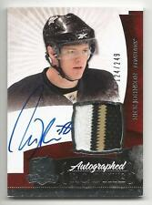 10-11 Nick Johnson The Cup Auto Rookie Card RC #135 Sweet Jersey Patch 124/249