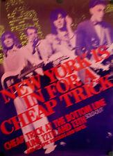 Cheap Trick 1979 Bottom Line Tour Poster