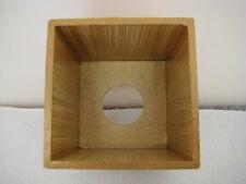 Poppy Fields Old Tissue Box Cover Wooden Handmade in UK