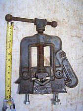 """Vintage NYE Tool Work Pipe Vise #71, 1/8"""" to 2 1/2"""" Capacity"""