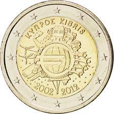 [#84991] Chypre, 2 Euro 10 ans de l'Euro 2012