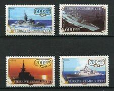 31179). TURKEY 2003 MNH** Turkish Naval Fleet 4v.