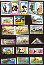 MONGOLIA animals prehistoric, sauvages,familiar and fish 310T1