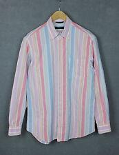 ERMENEGILDO ZEGNA SPORT Men's Button Down Collar Casual Shirt [SIZE LARGE]