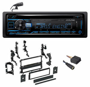 ALPINE Bluetooth CD Player USB/AUX SiriusXM For 00-04 Mitsubishi Montero