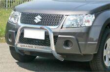 SUZUKI GRAND VITARA 09 e 2013 BULL BAR MIRROR INOX 60 LUCIDO C/SCRITTA