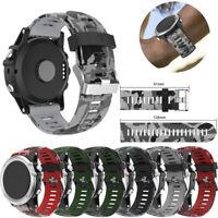 Replacement Silicagel Soft Band Strap For Garmin Fenix 3 GPS Watch 26MM Fashion