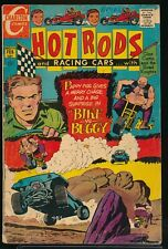 HOT RODS and RACING CARS No. 100 1970 Charlton Comic Book BIKE vs. BUGGY GD/VG