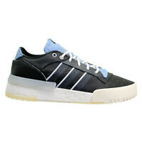 ADIDAS ORIGINALS RIVALRY RM LOW Mens Leather Shoes Boost - Black Blue - Size 11