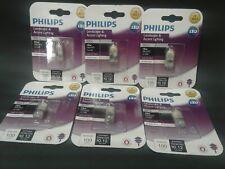 6 Philips Landscape Accent Lighting bulbs 10 watt LED G4 Bi-Pin Base 13 years