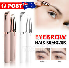 Lady Flawless Brows Facial Hair Remover Electric Eyebrow Trimmer Epilator White