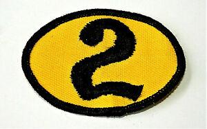 1970s Racing Team NASCAR #2 Car Yellow Patch New NOS Bobby Allison?