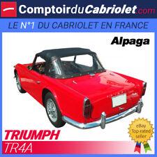Capote Triumph TR4A cabriolet - Toile Alpaga Stayfast®