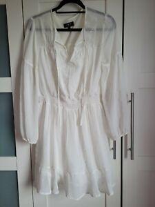 Lipsy White Dress Size 12