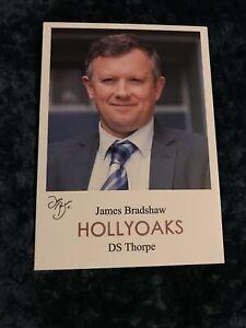 Hollyoaks DS Thorpe Cast Card