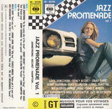 "K 7 AUDIO (TAPE)  LOUIS ARMSTRONG COUNT BASIE DIDNEY BECHET ""JAZZ PROMENADE"""
