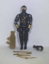 BLACK MAJOR CUSTOM STORM SHADOW NINJA KU G.I. Joe 3.75 Cobra