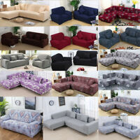 Stretch Chair Loveseat Sofa Cover 1 2 3 4 Seater Couch Cover Slipcover Protecter