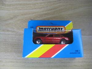 MATCHBOX SUPERFAST   MB1 JAGUAR XJ6    Maroon   ABSOLUTELY MINT