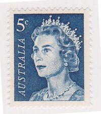 (K29-5) 1966 AU 5c blue QEII definitive MUH