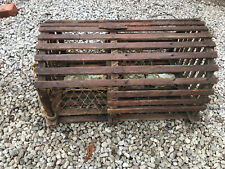 Real Nice Old Wood Lobster trap