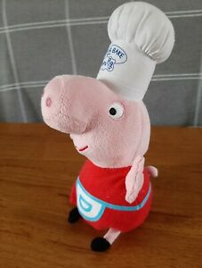 Ty Beanies Chef Peppa Pig Plush Soft Toy  New