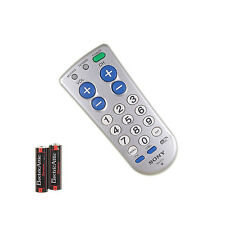 SONY RM-EZ2 TV CBL BIG BUTTON Remote Control w/Batteries