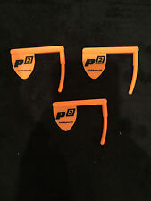 Empty Chamber Safe Chamber Flags Rim-Fire Rifle Pistol Range Safety - ORANGE