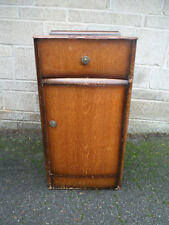 Vintage/Retro Bedside Tables & Cabinets with Cupboard