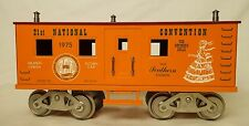 MCCOY VINTAGE #1000-75 TCA SOUTHERN BELLE 21ST NATIONAL CONVENTION CAR-LN!