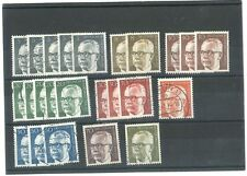 Architecture Decimal Single European Stamps