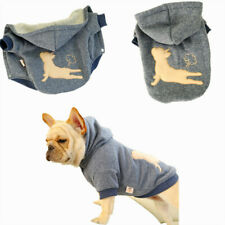 Cat Pet Dog Clothes Printed Pet Coat Puppy Dogs Shirt Jacket French Bulldog