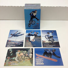 ADRENALINE (FLEER/2000) Complete Trading Card Set w/ BIG AIR Ron Dyrdek X-GAMES