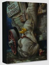 Disney Fine Art Treasures On Canvas Collection Baby of Mine-Dumbo-Edwards