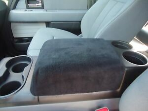 Fits Ford Expedition 2007-2011 Fleece Center Armrest Console Cover F1