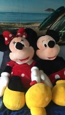 """Jumbo 48"""" Disney Store Exclusive Mickey and Minnie Mouse Plush - Bundle"""