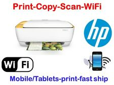 New HP Deskjet 3633(2549) All-In-One Printer-wireless-Tablets print-Yellow color