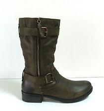 Wadenhohe Stiefel normale Weite (F) aus Echtleder für die Freizeit