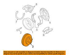 GM OEM Rear Brake-Rotor 15704667