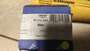GROHE 40312EN0 Atrio Double Robe Hook in Brushed Nickel InfinityFinish
