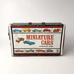 Vintage 1966 Mattel Miniature Cars Carrying Case