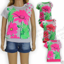 T-Shirt Floral Sleeveless T-Shirts, Top & Shirts (2-16 Years) for Girls