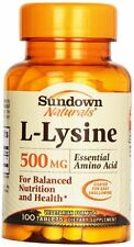 Sundown L-lysine 500mg Tablet 100ct