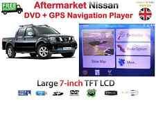 """NISSAN NAVARA X-TRAIL 7"""" DVD GPS SAT NAV fo PATHFINDER REVERSING LED CAMERA M138"""